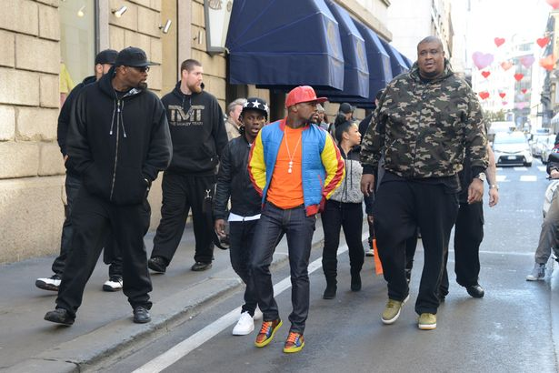 Image result for mayweather body guards