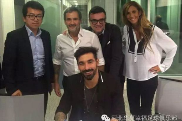 Hebei China Fortune announce new signing Ezequiel Lavezzi