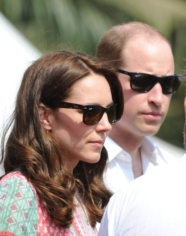 The Duke and Duchess of Cambridge wore stylish Ray-Ban sunglasses