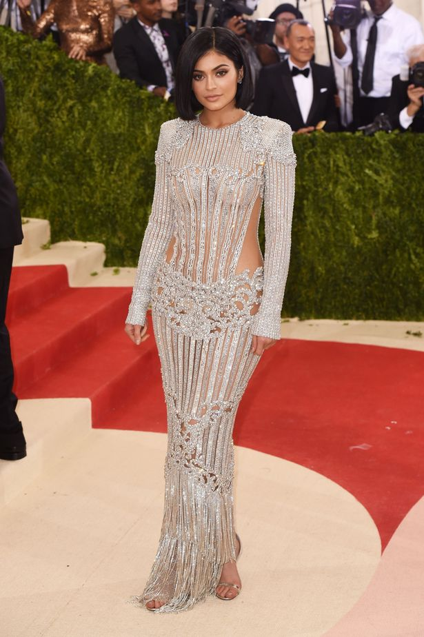 Kylie Jenner at The Metropolitan Museum of Art's COSTUME INSTITUTE Benefit