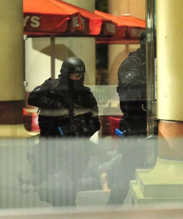 Trafford Centre counter-terrorism training exercise