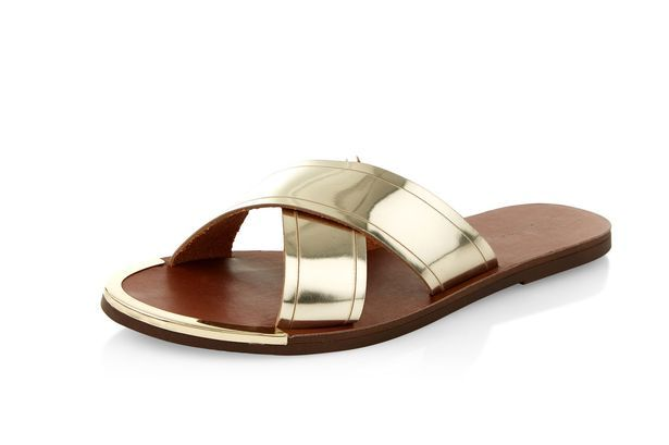 New Look Gold Sandals