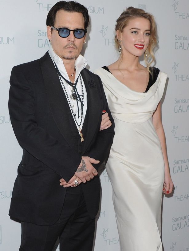 Johnny Depp and Amber Heard arrive at The Art Of Elysium 8th Annual Heaven Gala