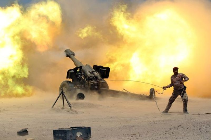Image result for iraq's army facing fierce resistance from islamic state as it launches long awaited