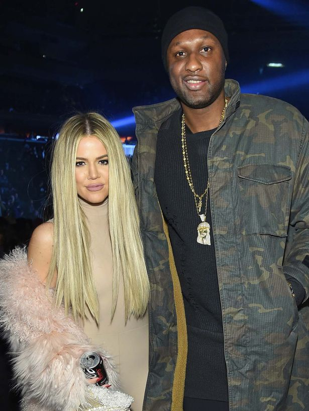 Khloe Kardashian and Lamar Odom attend Kanye West Yeezy Season 3