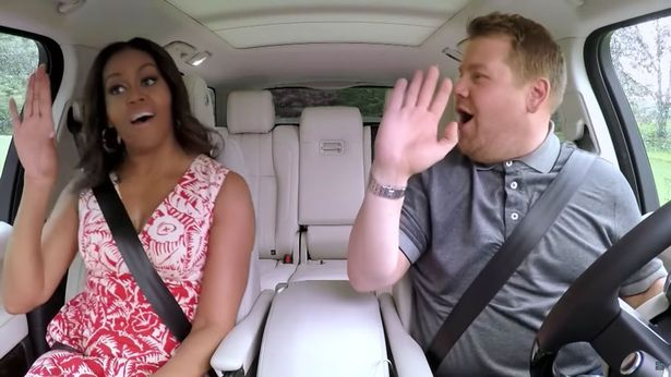 Carpool Karaoke with Michelle Obama