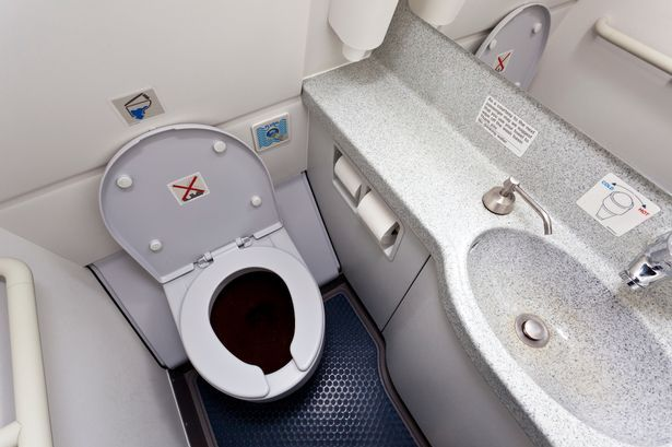 Cabin lavatory/toilet in modern airplane