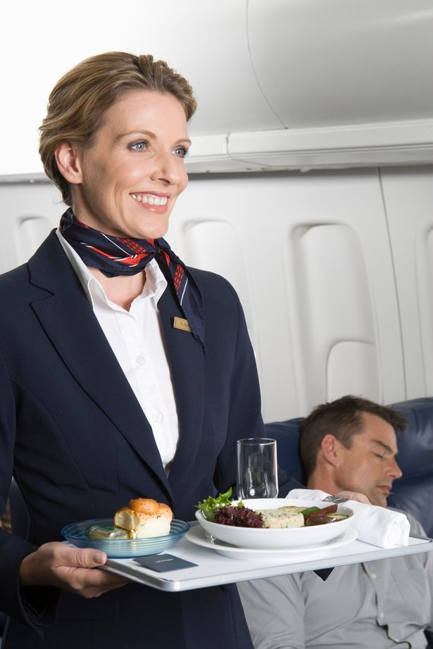 Plane food tray