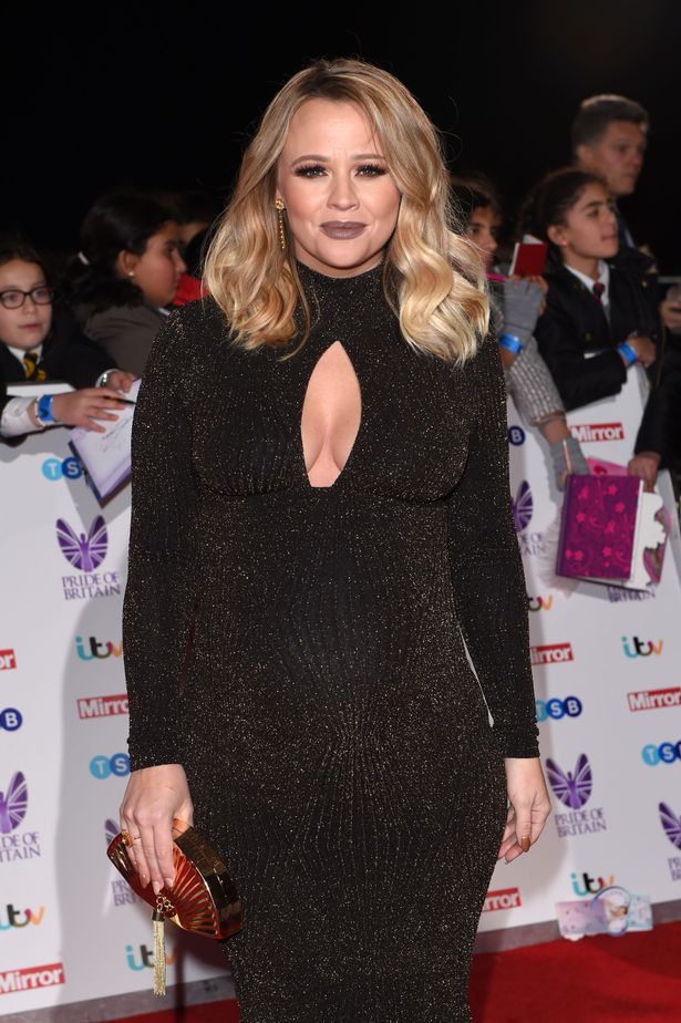 Kimblerley Walsh at Pride of Britain Awards