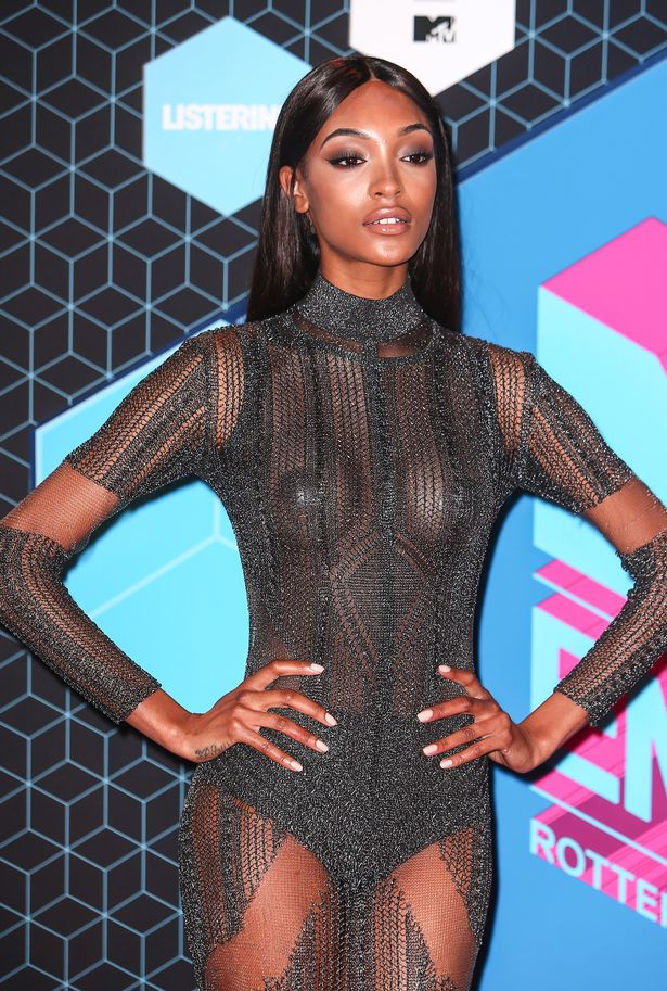 Jourdan Dunn attends the MTV Europe Music Awards 2016