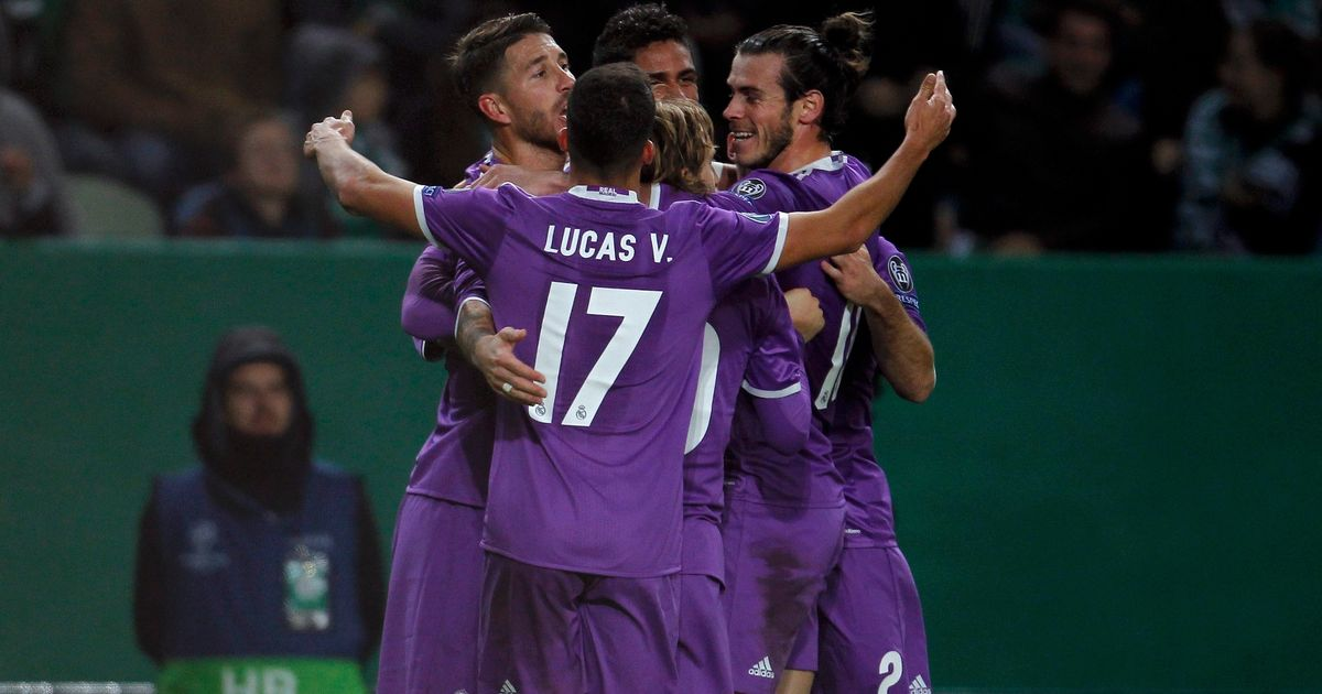 Image result for Sporting Lisbon 1-2 Real Madrid
