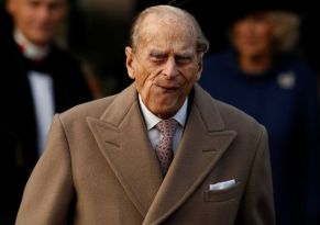 Image result for Pics of Prince phillip walking with hands behind his back