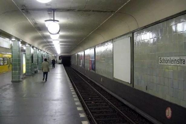Schönleinstraße station in Berlin
