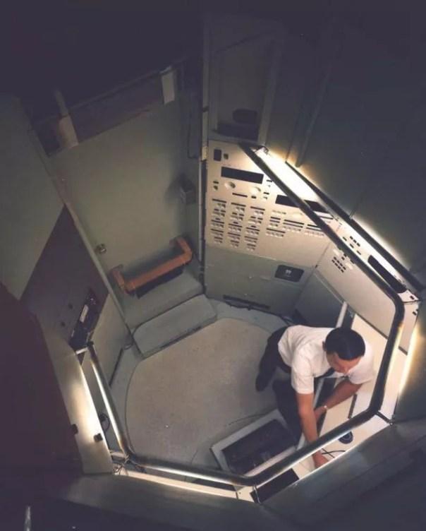 Era espacial: Las fotografías tienen una sensación claramente retro