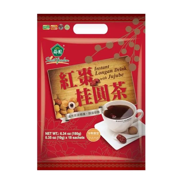 【薌園】紅棗桂圓茶X1袋(10gX18入/袋)