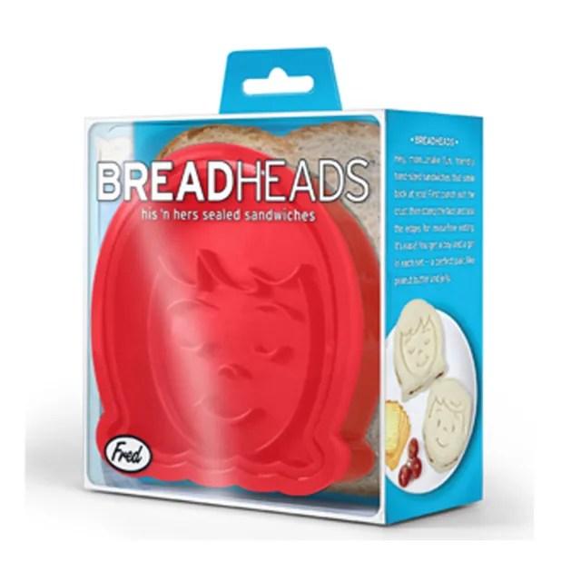 【Fred & Friends】Bread Head 麵包轉印造型模具