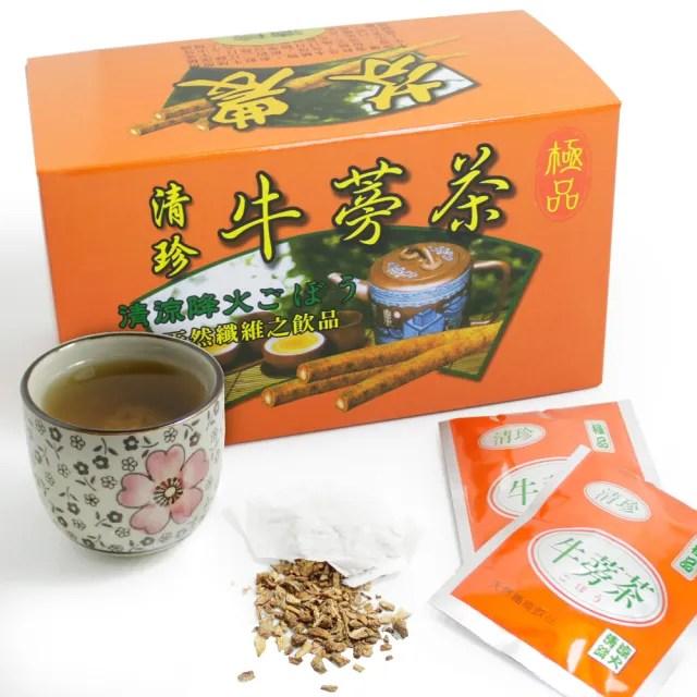 【那魯灣】清珍養生牛蒡茶包10盒(5gX20包/盒)