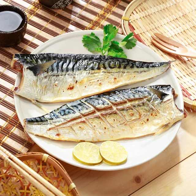 【元氣珍饌】挪威薄鹽鯖魚片(180g /片*40片)