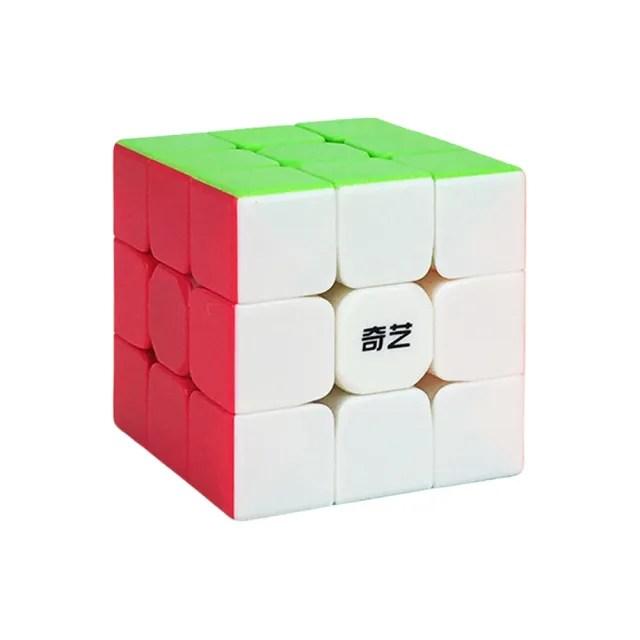 【888ezgo】魔方格三階比賽專用魔術方塊(六色螢光版)(授權)