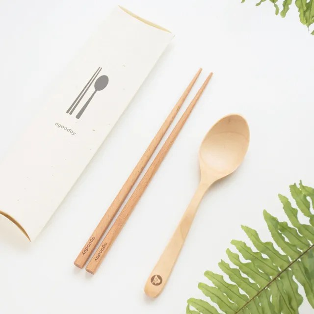 【好日子agooday】原木餐具組