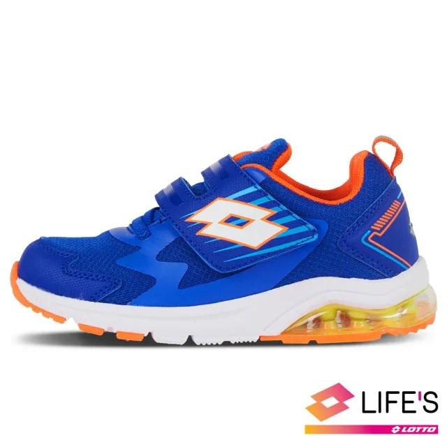 【LOTTO】運動鞋 兒童鞋  FUN RIDE 避震氣墊跑鞋(藍-LT0AKR2696)