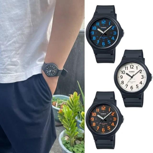 【CASIO 卡西歐】多元STANDARD指針錶系列(MW-240)