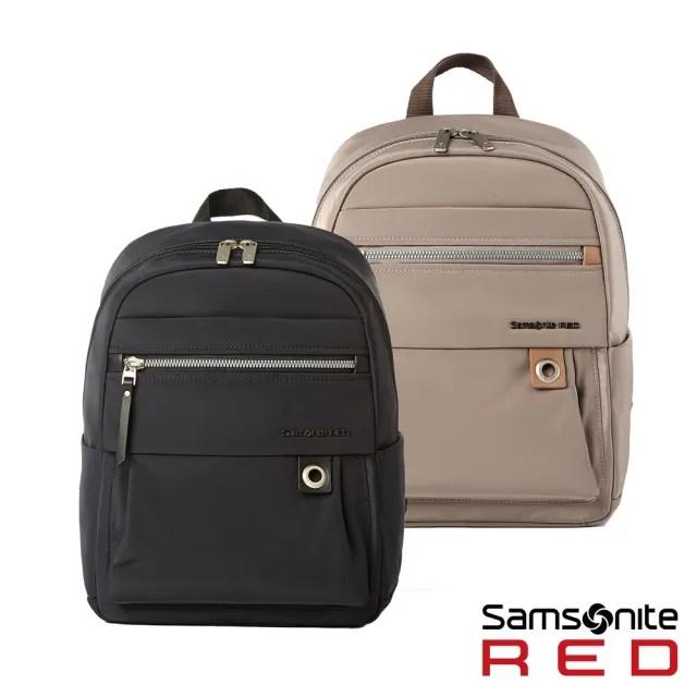 【Samsonite RED】AYDIN 女性經典輕量筆電後背包S 多色可選(HP1)