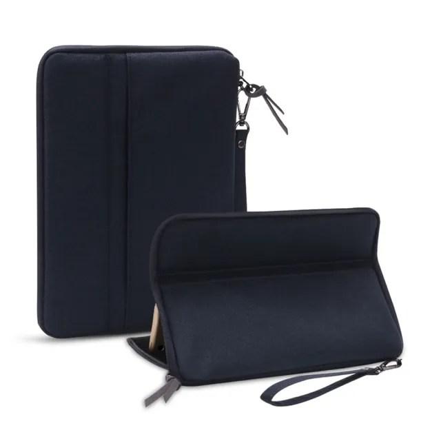 3D Air 平板iPad通用7.9吋-11吋創新吸盤保護套支架/內膽包(黑色)
