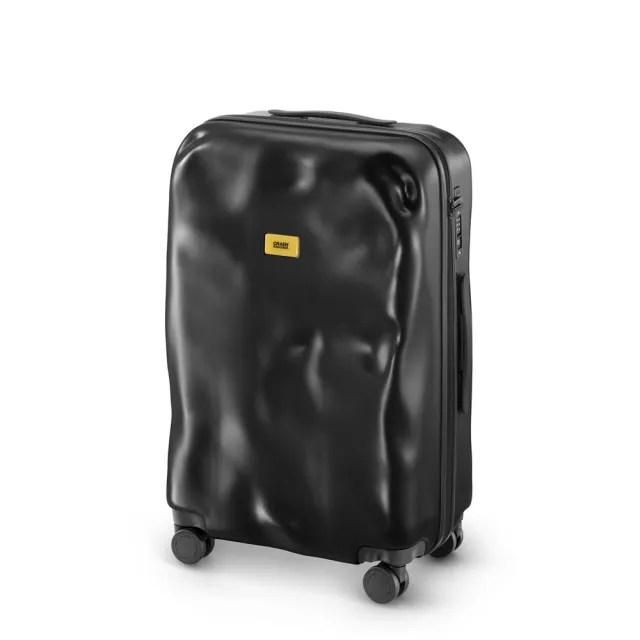 【義大利Crash Baggage】New Icon防撞行李箱25吋(酷黑)