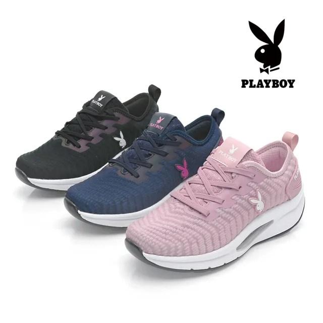 PLAYBOY斜紋織專利足弓氣墊鞋-首度進駐