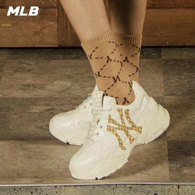 【MLB】老花系列 老爹鞋 Monogram Chunky 紐約洋基隊(32SHCM111-50I)