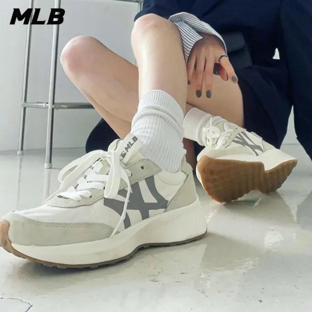 【MLB】麂皮老爹鞋 Chunky Jogger系列 紐約洋基隊(32SHX1111-50I)