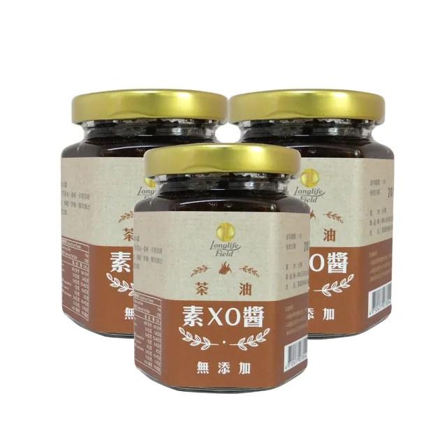 【梅山茶油合作社】苦茶油素XO醬 香椿與香菇的完美相遇 3入組