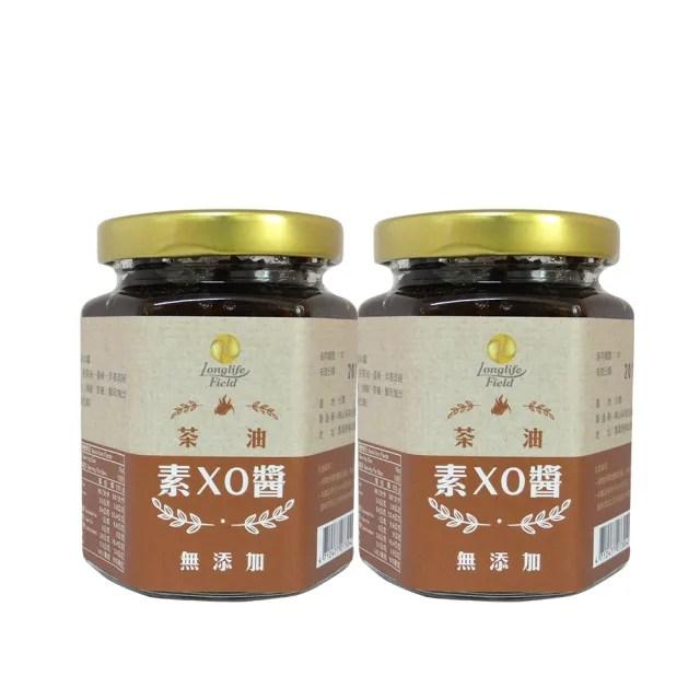 【梅山茶油合作社】苦茶油素XO醬(香椿與香菇的完美相遇 2入組)