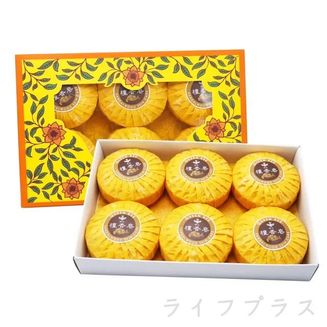 【QUEEN BEE 蜂王】蜂王檀香皂-6入盒裝X6組