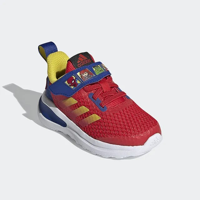 【adidas官方旗艦館】童鞋 MARVEL FORTARUN SUPER HERO 跑鞋 運動鞋 男童/女童(FY1654)