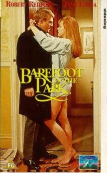 Jane Fonda Barefoot in Park Movie