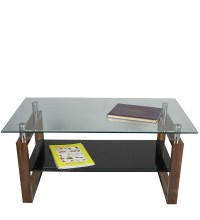 Buy Wooden & Glass Center Table by Suvika Lifestyle Online ...