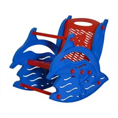 Affordable Rocking Chair Tiny Table And Chairs Buy Nilkamal Dolphin Kids (red Blue) Online - Study Tables Furniture ...