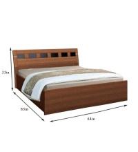 Nilkamal Reegan Queen Size bed with Storage by Nilkamal ...