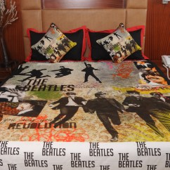 Set Of 2 Dining Chairs Swing Chair Queenstown Rasberrie Beatles Theme Digital Printed Double Bedsheet By Online - Bed Sheets ...