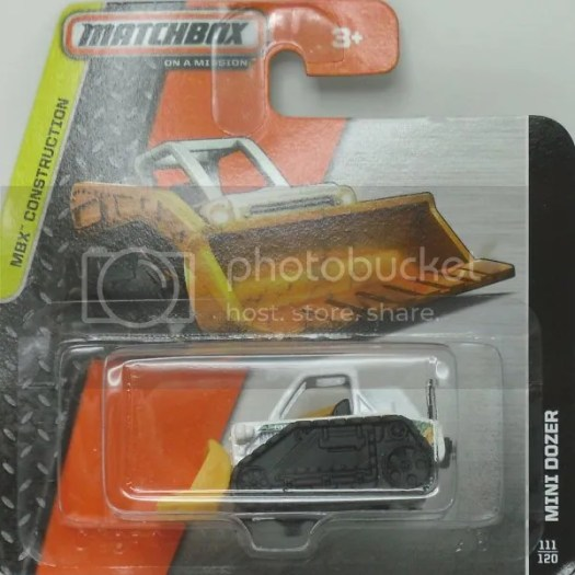 Impressed with the new Mini Dozer casting – Matchbox