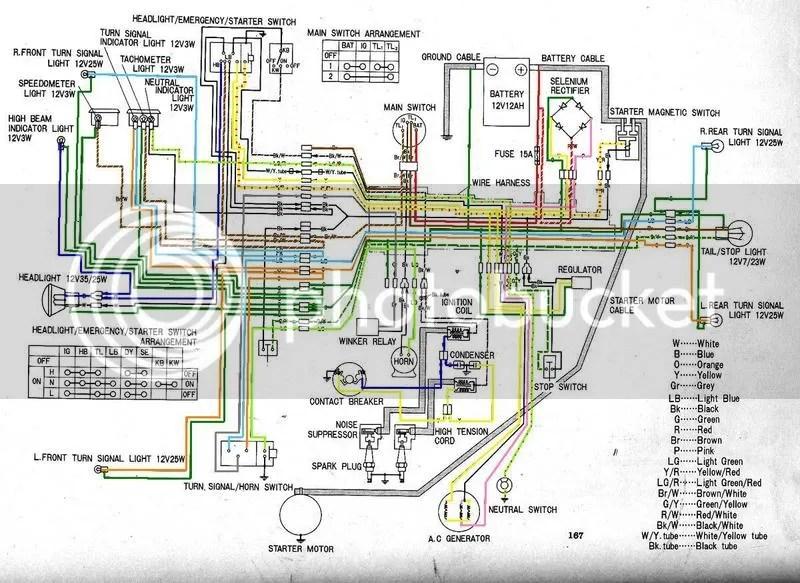 honda cl72 wiring diagram wiring diagrams