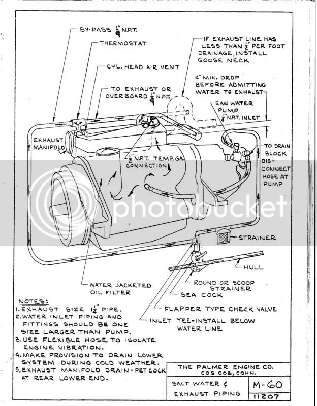 Old Marine Engine: Palmer M-60 Thermostat