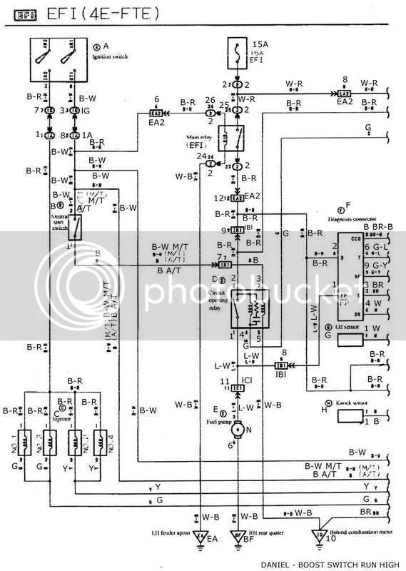Wiring diagram 1984 toyota starlet