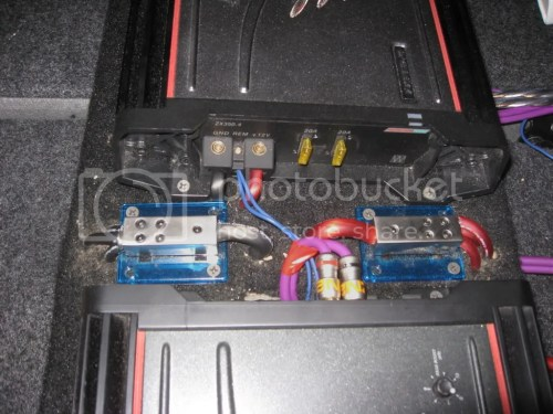 small resolution of post your amp rack pics enclosure design construction help car amp blue car amp rack wiring