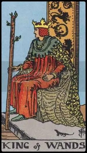 RWS King of Wands