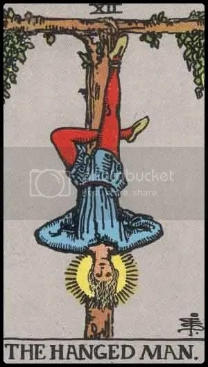Rider-Waite-Smith Hanged Man
