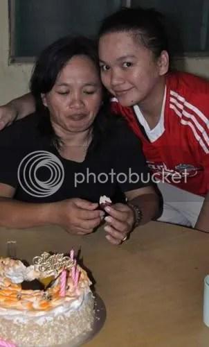Mummy and I