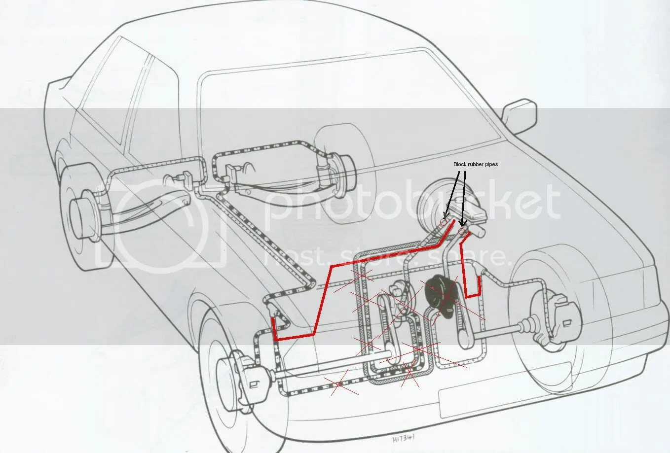 hight resolution of wanted brake pipe diagram for mk4 escort passionford ford focus escort rs forum discussion